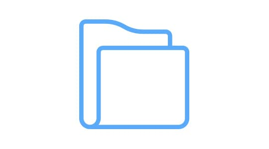 Icon for image import and export