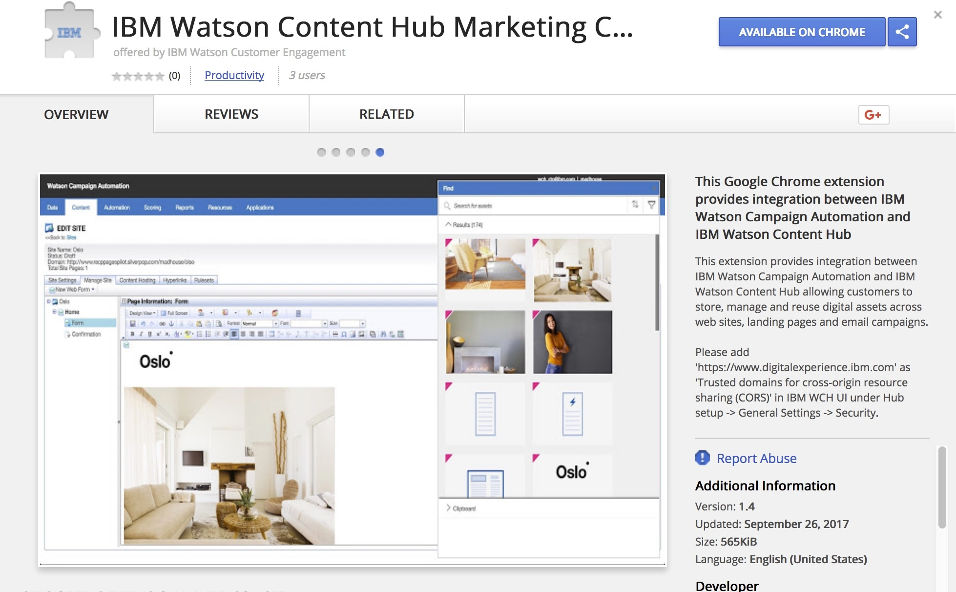 Watson Content Hub Overview