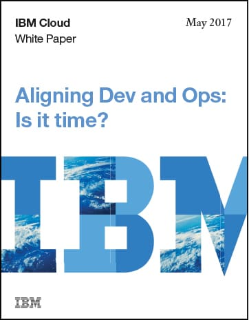 Align Dev and Ops white paper