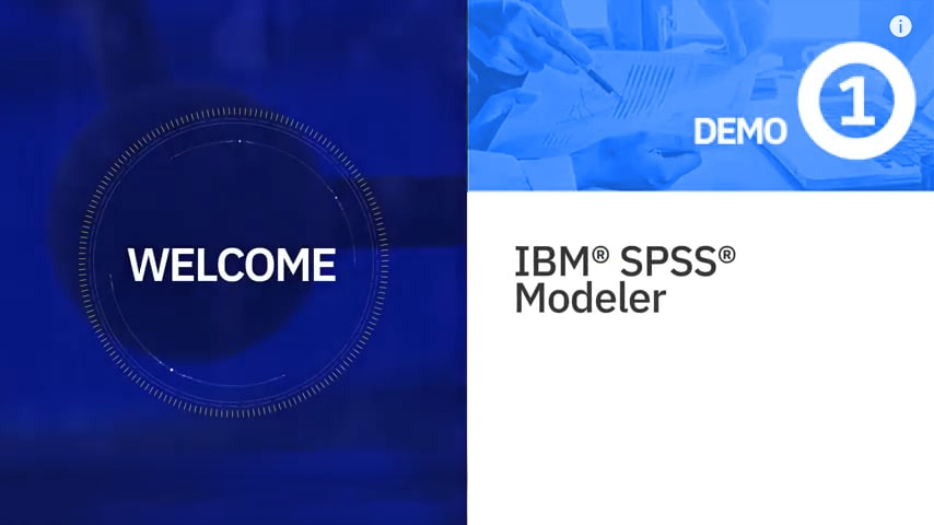 IBM SPSS Modeler Demo #1: Access Data