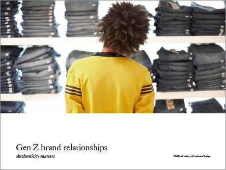 Gen Z Brand Relationships PDF cover
