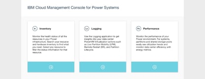 IBM Cloud Management Console para Power Systems