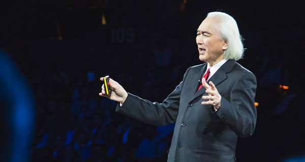 Dr. Michio Kaku shares his vision of the future at IBM Think 2018