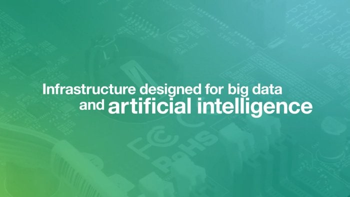 Infrastructure designed for big data and artificial intelligence
