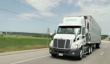 Photo of a Sysco truck