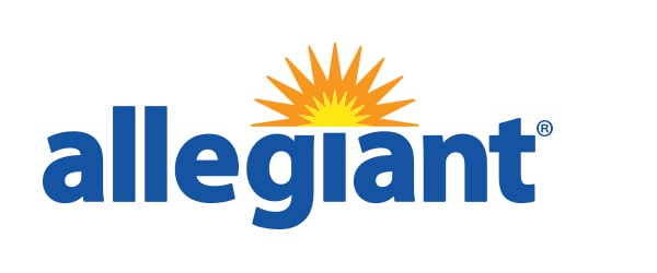 Logo di Allegiant Air logo per il case study dei database IBM Cloud