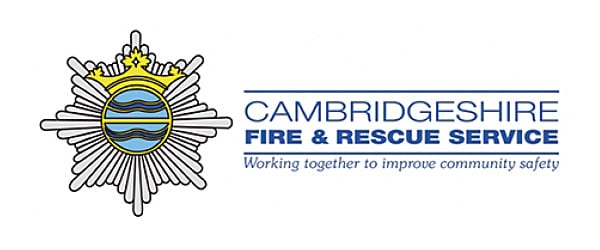 Logotipo de Cambridgeshire Fire and Rescue
