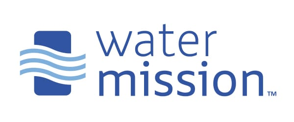 Logo di Water Mission per il case study dei database IBM Cloud