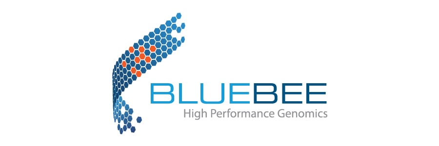 Bluebee社のロゴ
