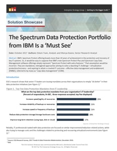 ESG insight: IBM Spectrum Data Protection is a 'Must See'