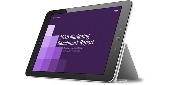 See how your marketing campaigns stack up against competition with the Marketing Benchmark Report