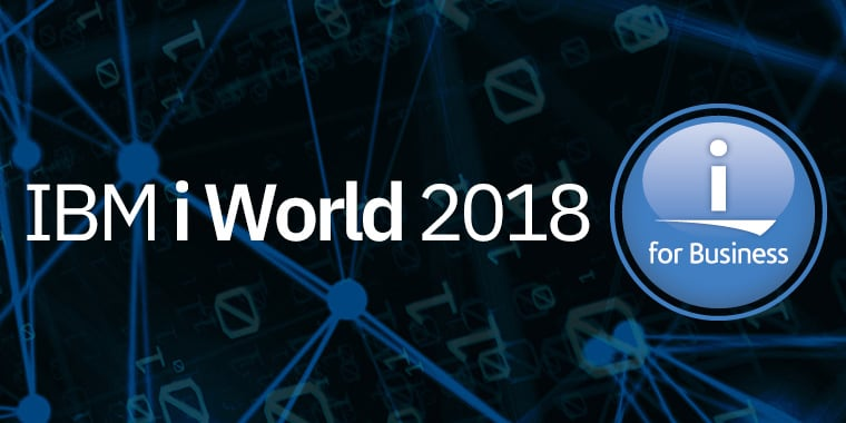 IBM i World 2018 i for Business