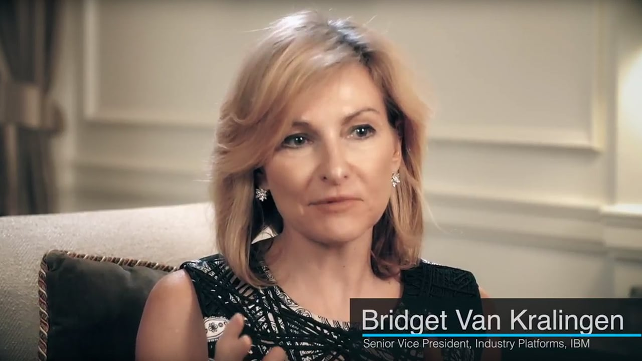 Bridget Van Kralingen RecgTech solution video