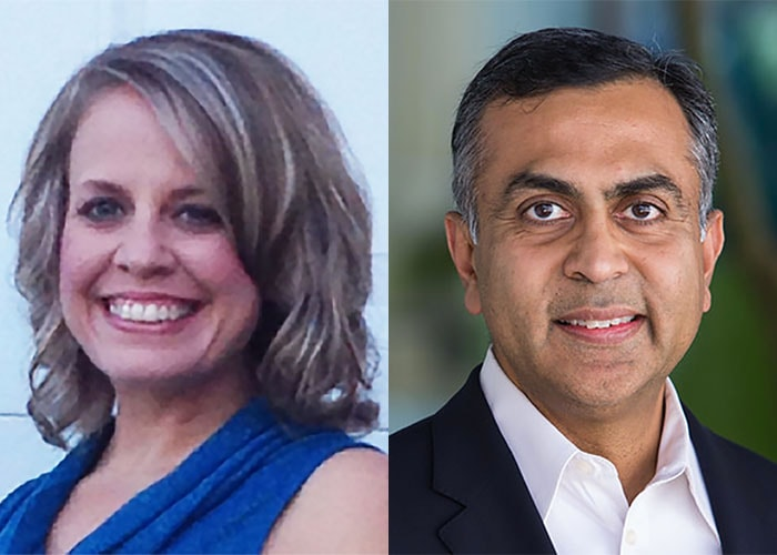 Keri Olson and Ajay Patel image