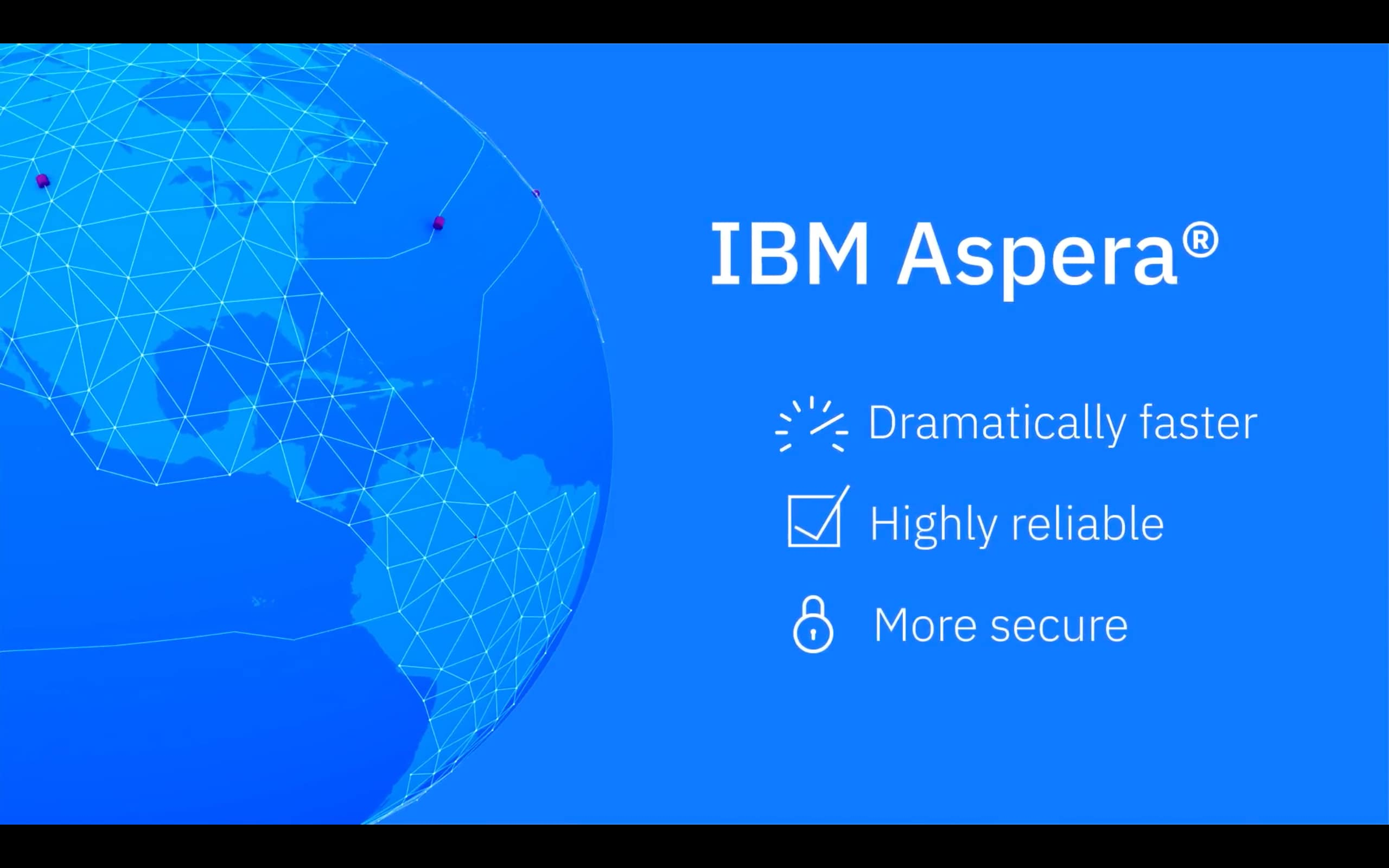 Vídeo de IBM Aspera