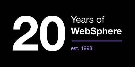 WebSphere has evolved over the past 20 years