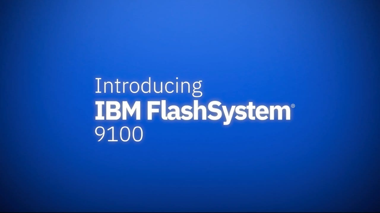 IBM FlashSystem 9100 speeds multi-cloud deployments, reduces costs and simplifies support