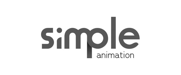 Logotipo de animación simple