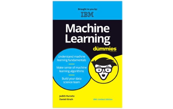 Portada de Machine learning for dummies