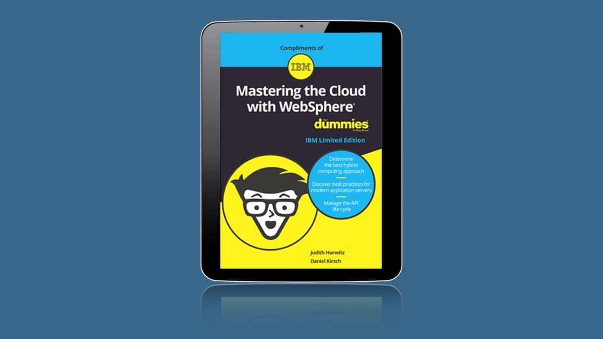 Cover image of Mastering the Cloud with WebSphere dummies