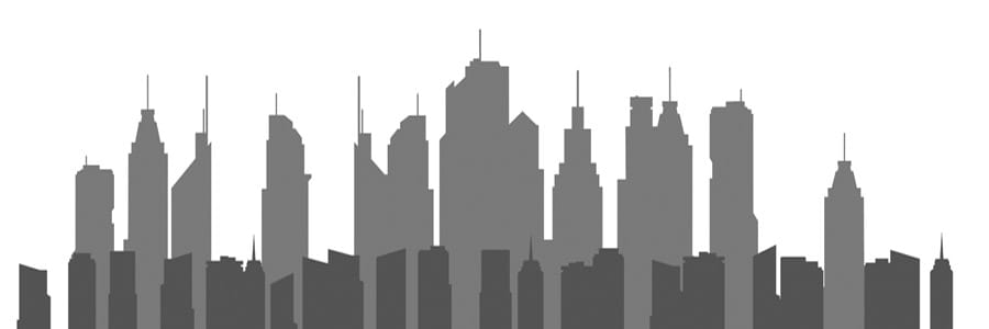 buildings silhouette