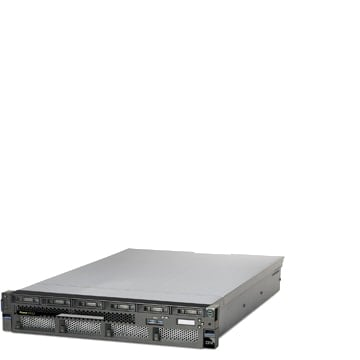 A photo of a small enterprise server