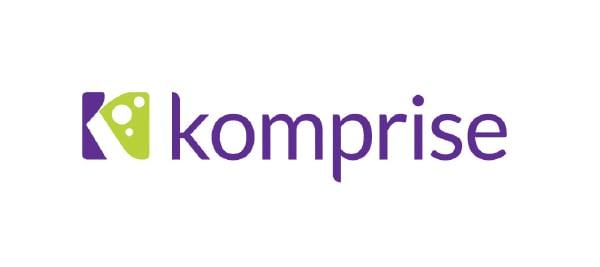 Logo de Komprise