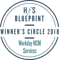 HFS Blueprint | Winner's Circle 2018 | Workday HCM Services
