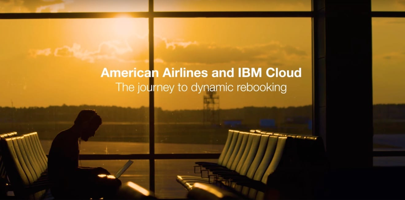 Photo representing the American Airlines IBM Cloud case study