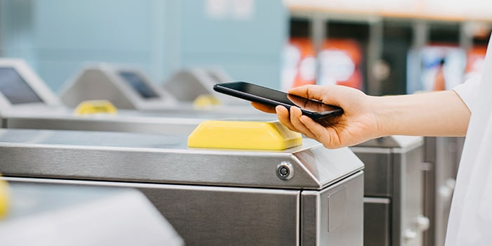 Attendants use app to boost ticket sales and efficiency