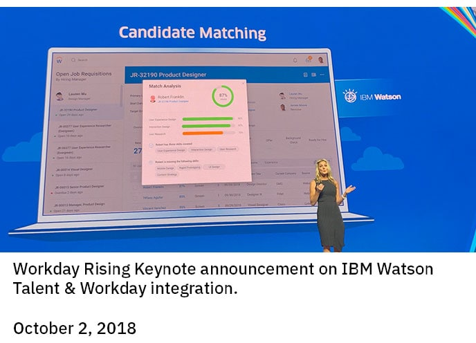 IBM and Workday announcement