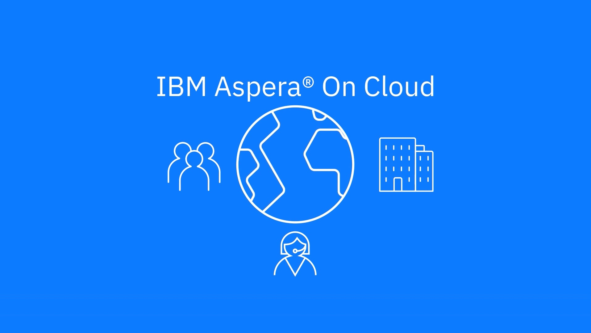 IBM Aspera on Cloud helps organizations quickly move data of all sizes