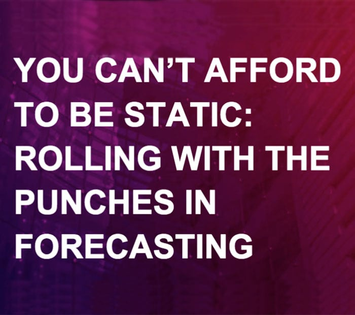 "Knowledge brief: Aberdeen on ""rolling with the punches"" in forecasting"