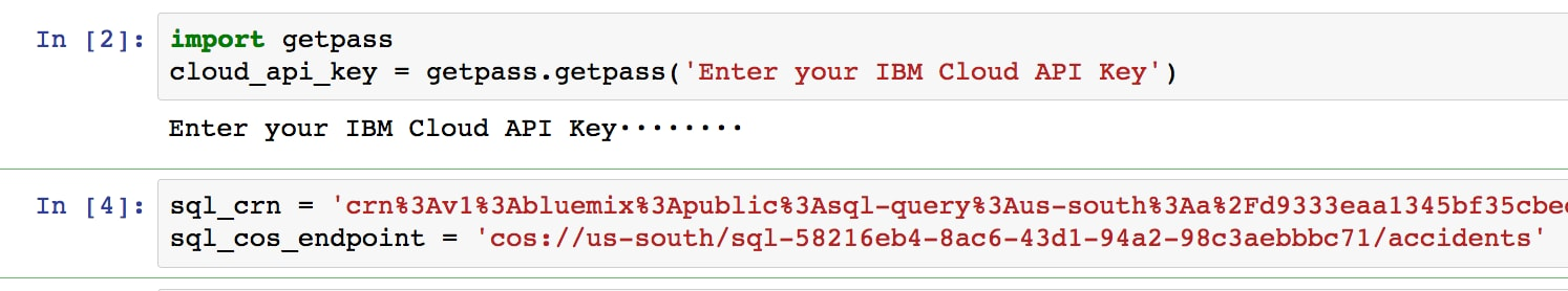 Analyzing Data with IBM Cloud SQL Query | IBM