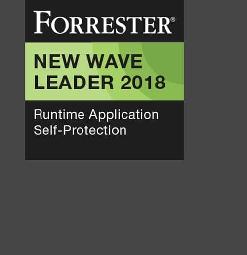 FORRESTER NEW WAVE LEADER 2018 Runtime Application Self-protection