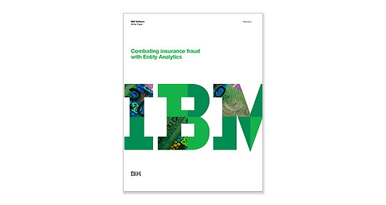 front cover of IBM white paper