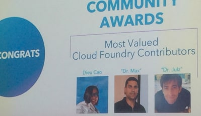 Most Valued Cloud Foundry Contributors