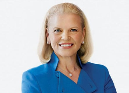 罗睿兰 (Virginia M. (Ginni) Rometty)