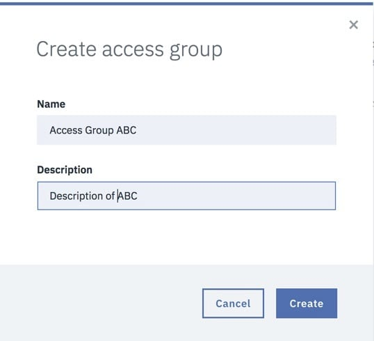 Access Groups | IBM