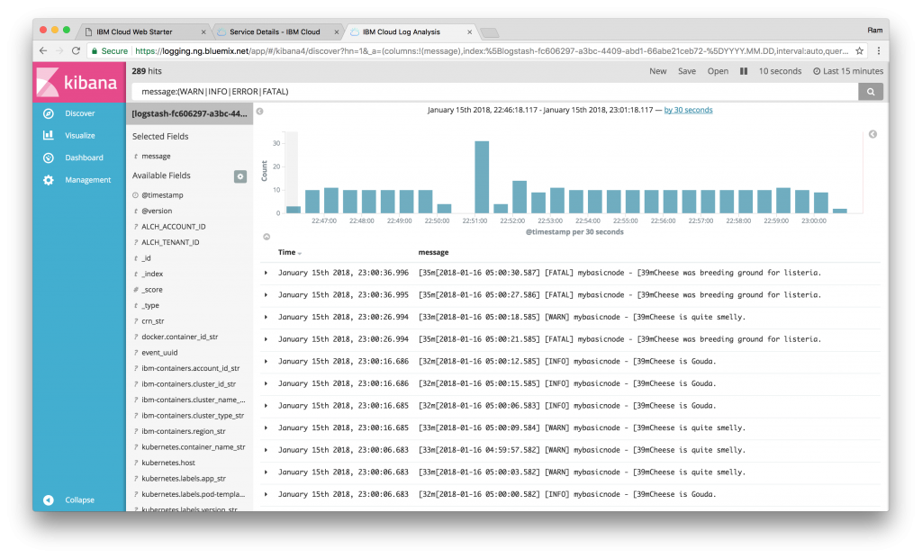 Turn-key Kubernetes with data visualization and analytics | IBM