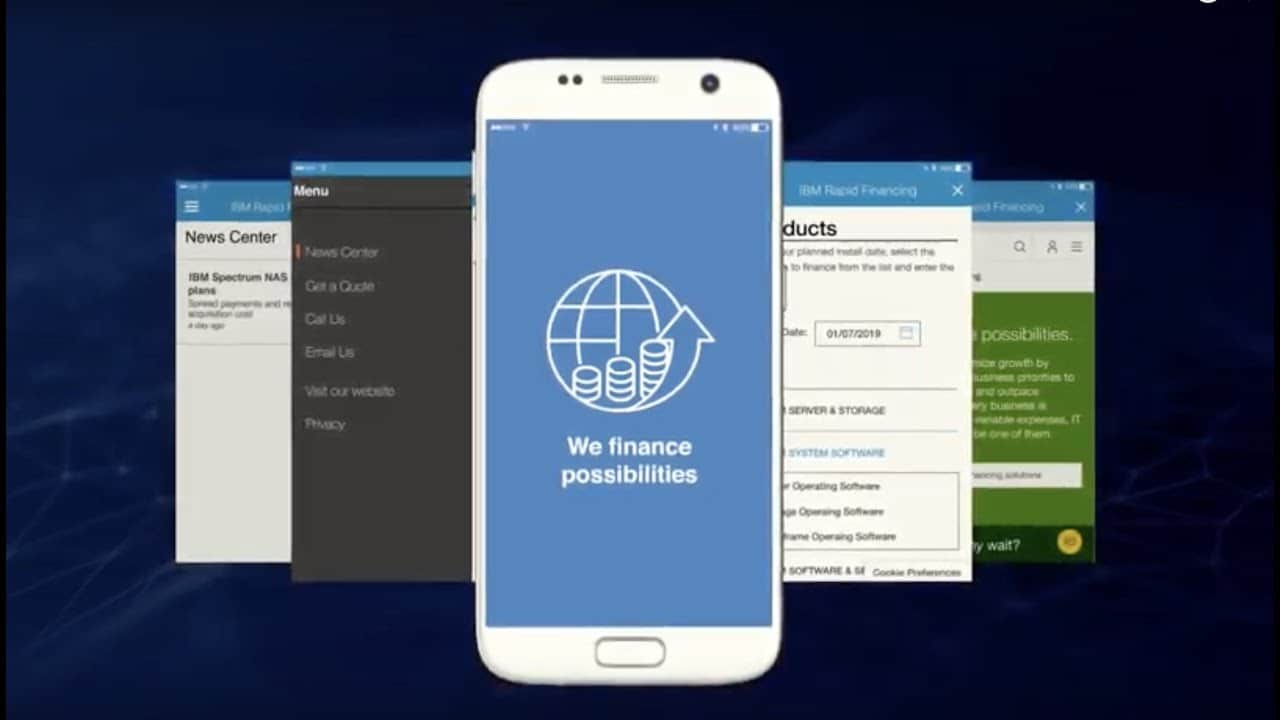 The Rapid Financing® app helps IBM Business Partners quickly generate client quotes, credit approvals, and simple financing contracts for IBM solutions.