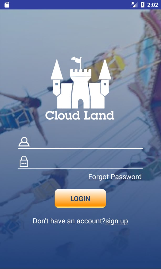 Android Cloud Land App