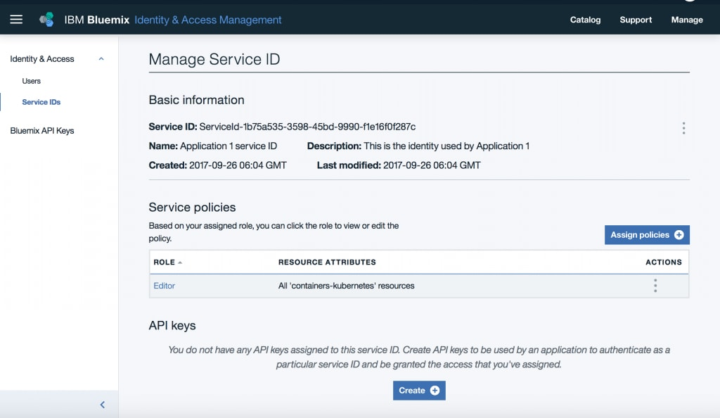 Introducing IBM Cloud IAM Service IDs and API Keys | IBM