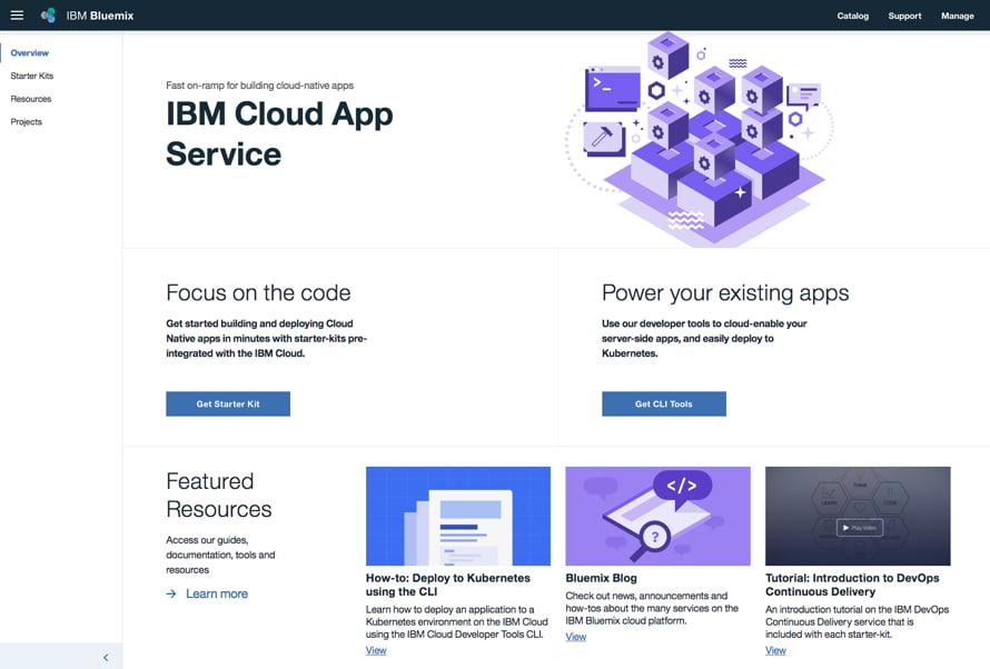IBM Cloud App Service