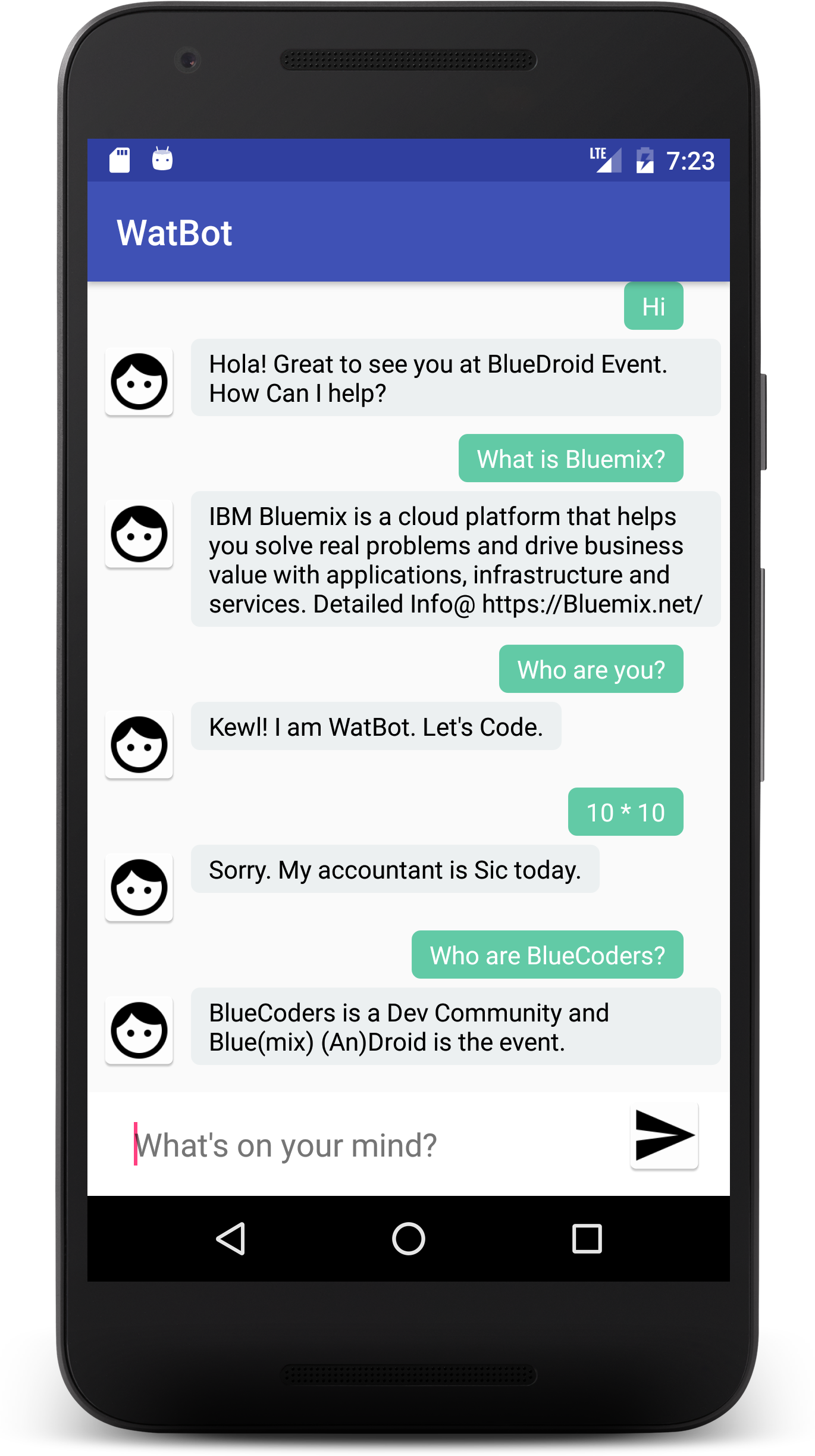 Build a voice-enabled Chatbot in minutes using Watson Java and