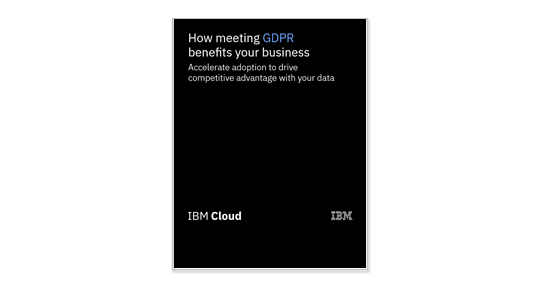 How meeting GDPR compliance benefits your business asset image