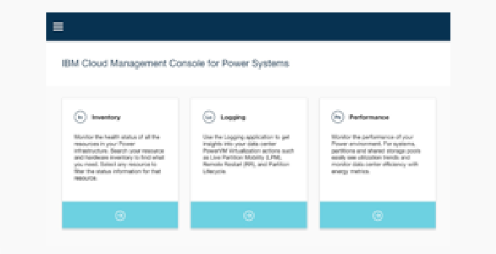 IBM Cloud Management Console for Power Systems