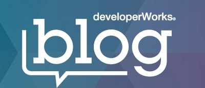 IBM developerWorks blog title banner