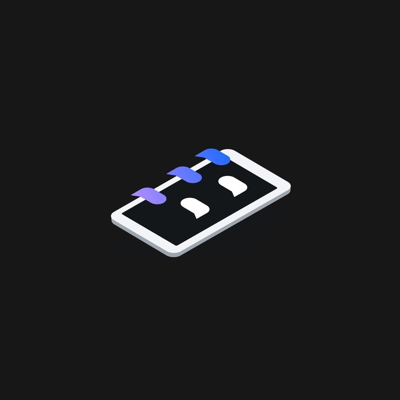AI for customer service graphic