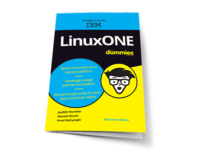 The Dummies book for LinuxONE